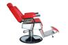 K-CONCEPT - Scaun Frizerie / Barber shop - rosu F4