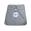 BARBER - Pelerina frizerie/coafor - negru cu alb F2
