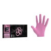 ELEGANCE - Mănuși profesionale nitril 100 buc. - Roz - S F2