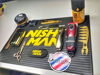 NISH MAN - Covor pentru ustensile - logo galben F3