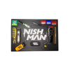 NISH MAN - Covor pentru ustensile - logo alb F3