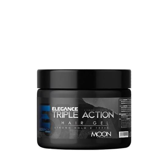 ELEGANCE - Gel de păr - triple action - Gri - 150 ml F1