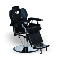 Scaun frizerie barber shop arthur negru k-concept
