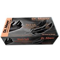 Manusi de nitril negre 100 bucati cutia
