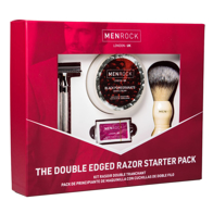 Set cadou barbierit Double Edged Razor Menrock