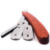 Brici din oțel inoxidabil cu mâner din lemn Parker SRRW