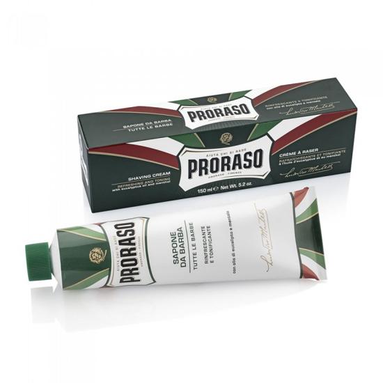 PRORASO - Crema pentru barbierit - Eucalipt and Menthol - 150 ml
