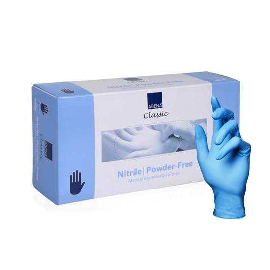 ABENA CLASSIC - Manusi profesionale din nitril - Albastru - L