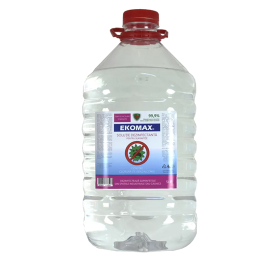 EKOMAX D - Dezinfectant pentru suprafete - 5000ml