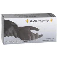 MAXCHAMP - Manusi profesionale din nitril - Negru - XS