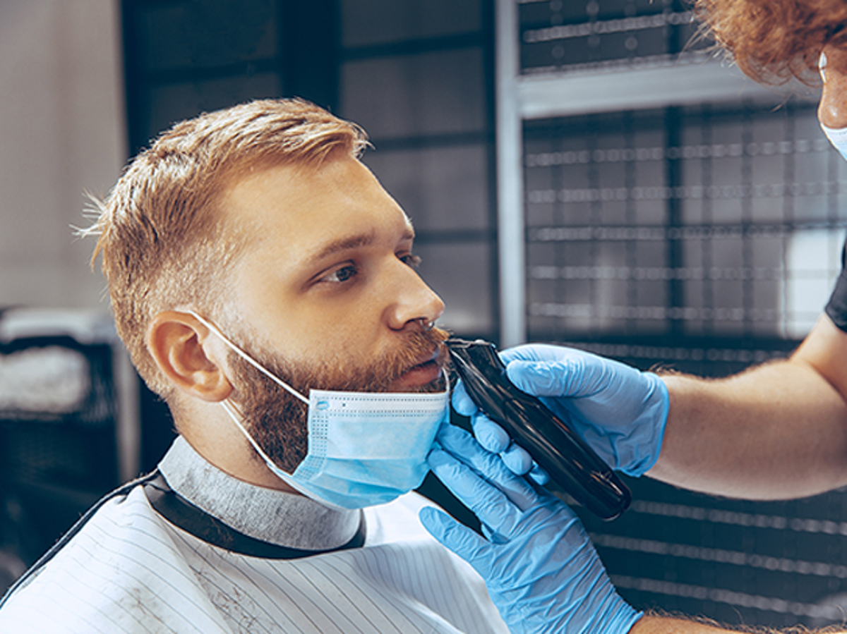 Sfaturi pentru îngrijirea bărbii atunci când purtați masca de protecție