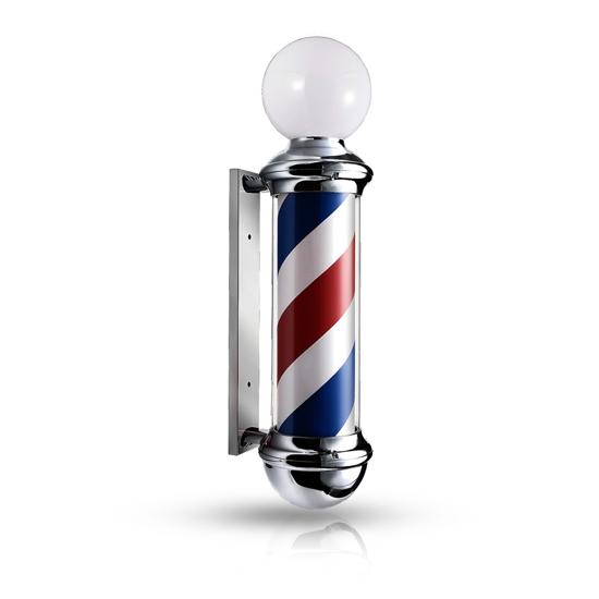 Reclama luminoasa frizerie m102d barber pole