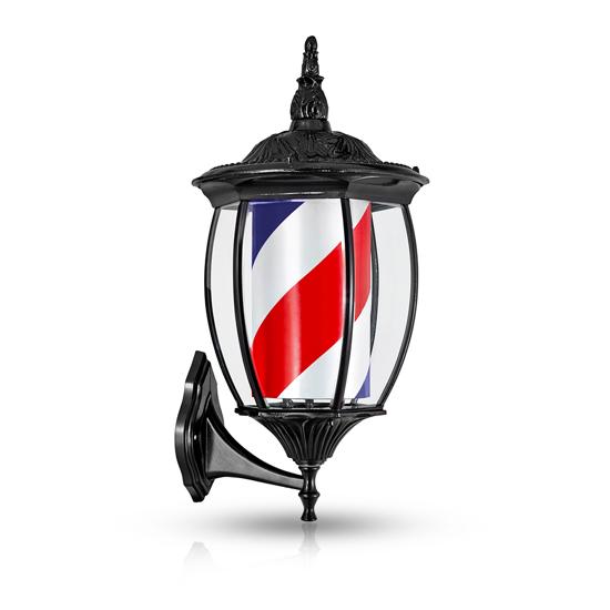 Reclama luminoasa frizerie m318ad1 barber pole