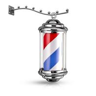 Reclama luminoasa frizerie barber shop M343 barber pole