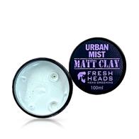 FRESH HEADS - Ceara pentru par Matte Clay - Urban Mist - 100 ml
