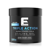 ELEGANCE - Gel de păr - triple action - Albastru - 250 ml