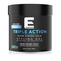 ELEGANCE - Gel de par - triple action - Albastru - 500 ml