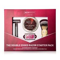 Set cadou barbierit Double Edged Razor Menrock