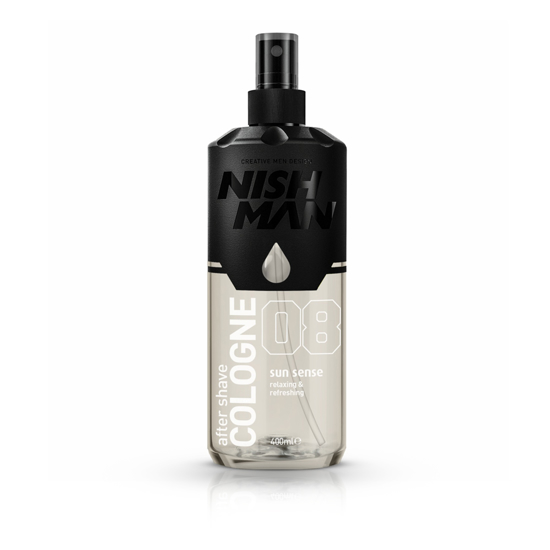 NISH MAN 8 - After shave colonie 400 ml