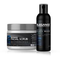 ELEGANCE - Set combo - Scrub Facial - 500 ml + Masca Neagra - 250 ml