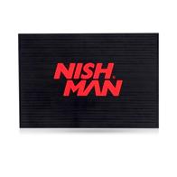 NISH MAN - Covor pentru ustensile - logo rosu
